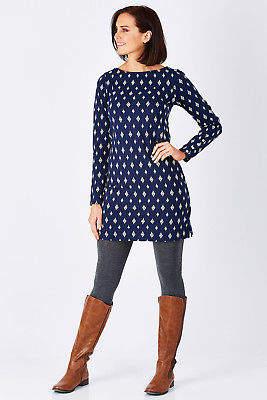 Hatley NEW Womens Short Dresses Long Sleeve Banded Dress PolkaDot
