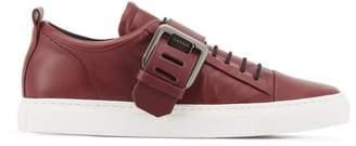 Lanvin Garnet Buckle Sneaker