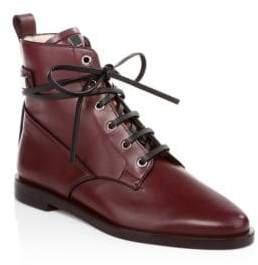 Stuart Weitzman Ryder Leather Booties
