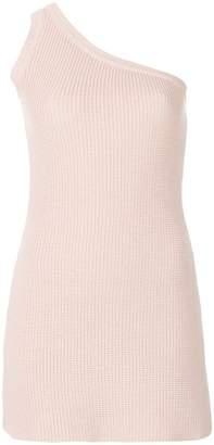 DAY Birger et Mikkelsen Unravel Project one-shoulder knit dress