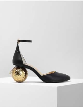 Maison Margiela Christmas Ball-Heeled Sandals