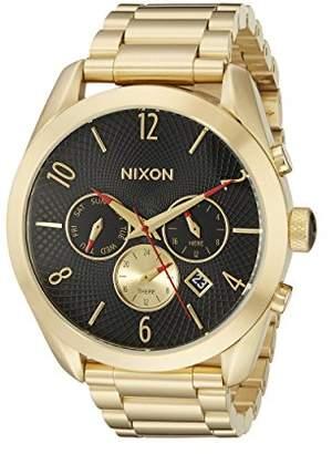 Nixon Women's A366510 Bullet Chrono Analog Display Analog Quartz Gold Watch