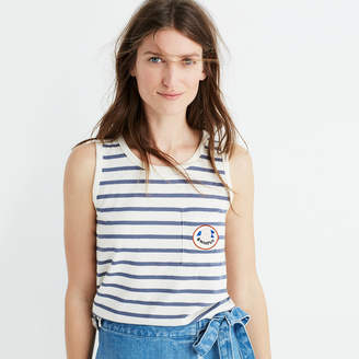 Striped Hiatus Tank Top $32 thestylecure.com