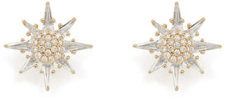 Bond Eye Bondeye Jewelry Calypso White Topaz Star Stud Earrings