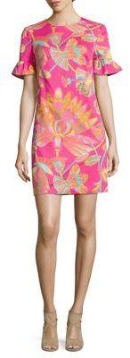 Trina Turk Darling Egypt Print Mini Dress