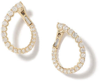 Anne Sisteron Merida Yellow-Gold Diamond Earrings