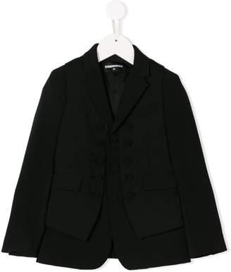 DSQUARED2 (ディースクエアード) - Dsquared2 Kids vest detail blazer