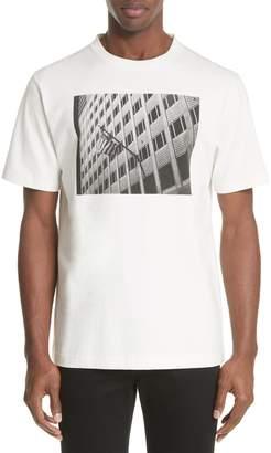 Calvin Klein Flag On Building Graphic T-Shirt