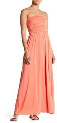 WEST KEI Strapless Maxi Dress