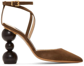 Jacquemus Brown Les Chaussures Camil Heels
