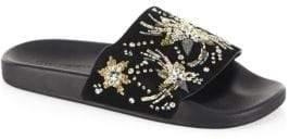 Rebecca Minkoff Suzette Embellished Slides