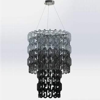 Thomas Laboratories Fuchs Chain Crystal Chandelier Fuchs