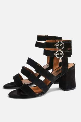 Topshop NINA Multi Strap Block Sandals
