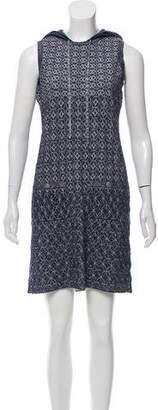 Chanel Paris-Dubai Hooded Dress