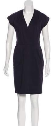 Derek Lam V-Neck Mini Dress V-Neck Mini Dress