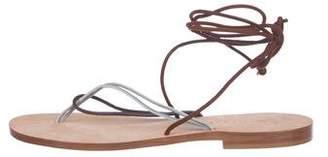 CoRNETTI Thong Wrap-Around Sandals