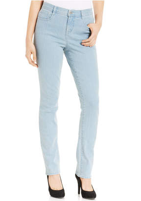 Style&Co. Style & co. Tummy-Control Slim-Fit Jeans, Sedona Wash