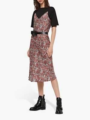 AllSaints Hennie Wilde Tee Dress, Multi