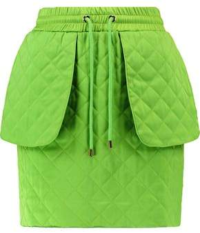Moschino Quilted Jersey Mini Skirt