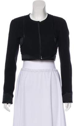 Narciso Rodriguez Wool Cropped Jacket