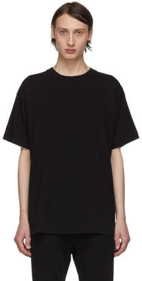 John Elliott Black University T-Shirt