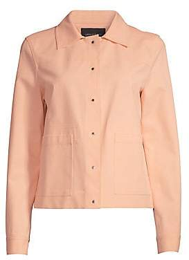 Lafayette 148 New York Women's Suri Collared Oversize Jacket