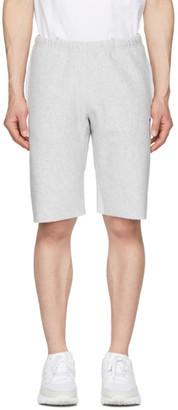 Champion Reverse Weave Grey Fleece Bermuda Shorts