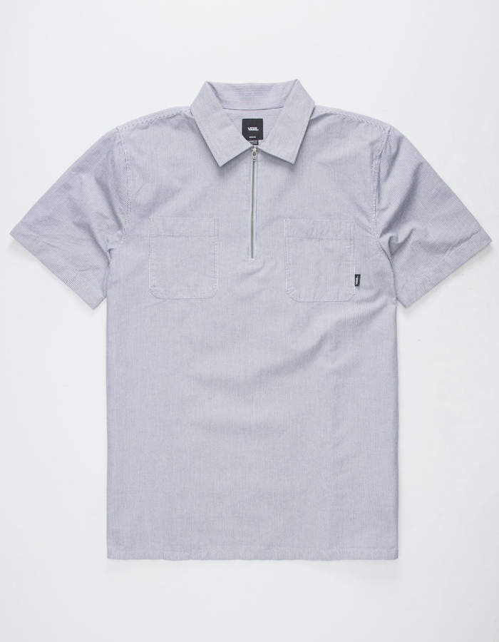 Vans Zip Pullover Mens Shirt