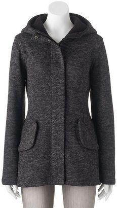 Juniors' Madden Girl Fleece Zip-Front Jacket $80 thestylecure.com