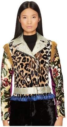 Jeremy Scott Icon Moto Jacket Women's Coat
