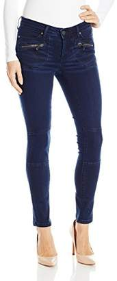 Calvin Klein Jeans Women's Moto Jean with Zipped Pockets in Trafaluc Wash $53.55 thestylecure.com