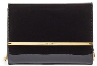 Ted Baker London Kerstin Patent Leather Crossbody Bag - Black $165 thestylecure.com