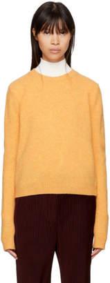 Acne Studios Yellow Wool Siw Sweater