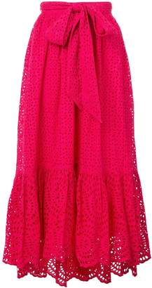 Ulla Johnson Lindley broderie anglaise skirt