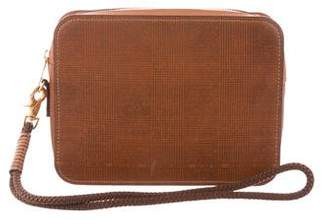 Alexander McQueen Textured Leather Pouch