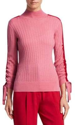 Emporio Armani Ribbed Wool Turtleneck