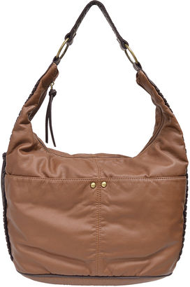 Bueno Of California Bueno 2Tone Washed Hobo Bag $70 thestylecure.com