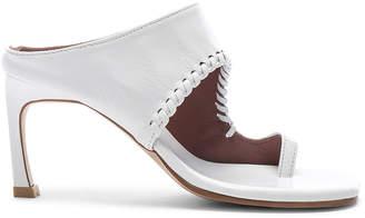 Reike Nen Asymmetry Turnover Heel in White | FWRD