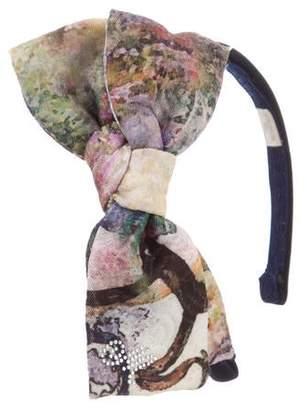MonnaLisa Chic Woven Embellished Headband