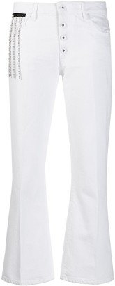 Each X Other flared cropped jeans