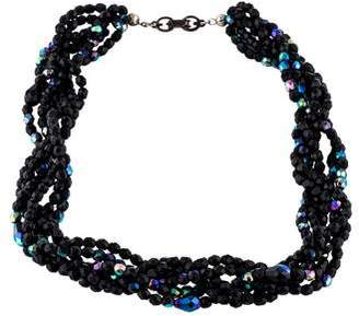 Givenchy Crystal Beaded Collar Necklace