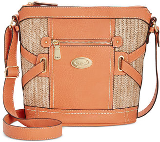b.o.c. Park Slope Straw Crossbody $66 thestylecure.com