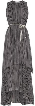 Replay Long Striped Muslin Dress
