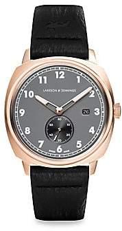 Larsson & Jennings Larsson& Jennings Meridian Leather Strap Watch