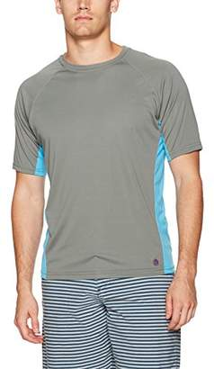 Mr.Swim Mr. Swim Men's Color Block UPF 50+ Swim Tee