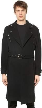 Wool Long Trench Coat
