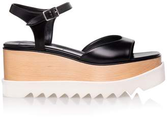 Stella McCartney Black Elyse Sandals