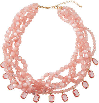 Lydell NYC Multi-Strand Torsade Bead Necklace
