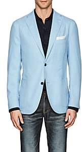 "Boglioli Men's ""K Jacket"" Virgin Wool-Blend Two-Button Sportcoat - Lt. Blue"