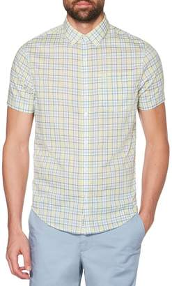 Original Penguin Heritage Slim Fit Stretch Plaid Shirt